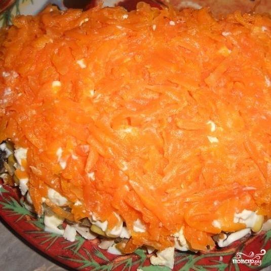 Салат Апельсиновая долька - фото шаг 9