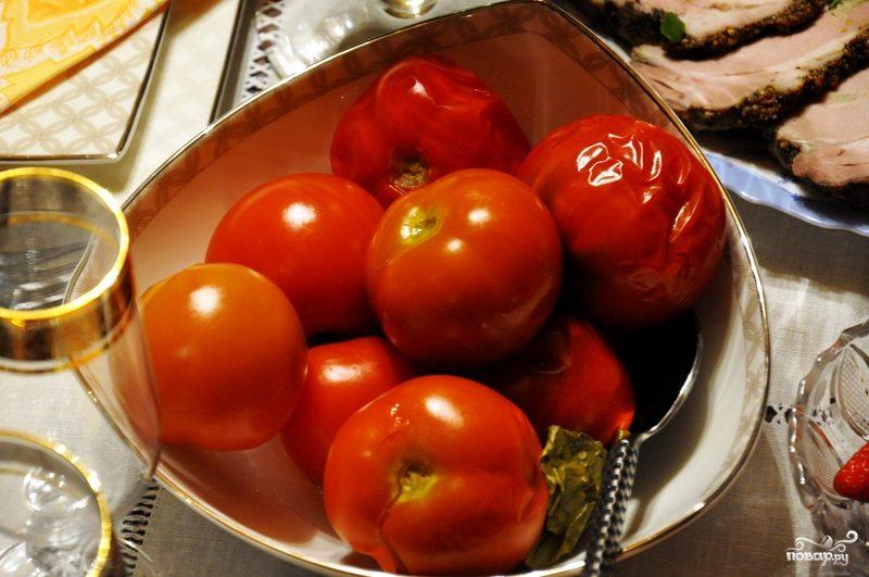 Рецепт Бочковые помидоры
