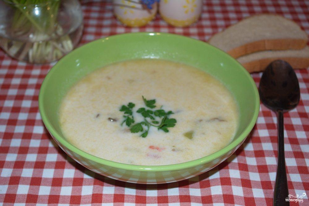 грибной суп рецепт с картошкой