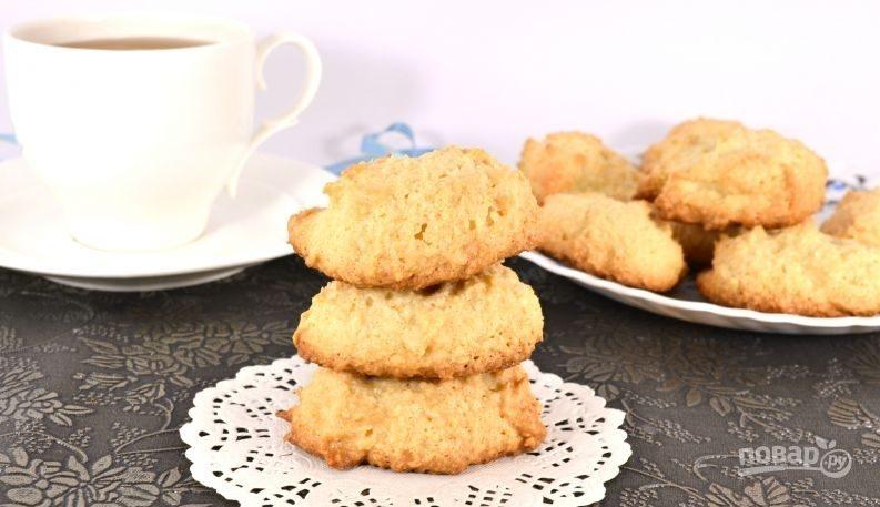 Белковое печенье