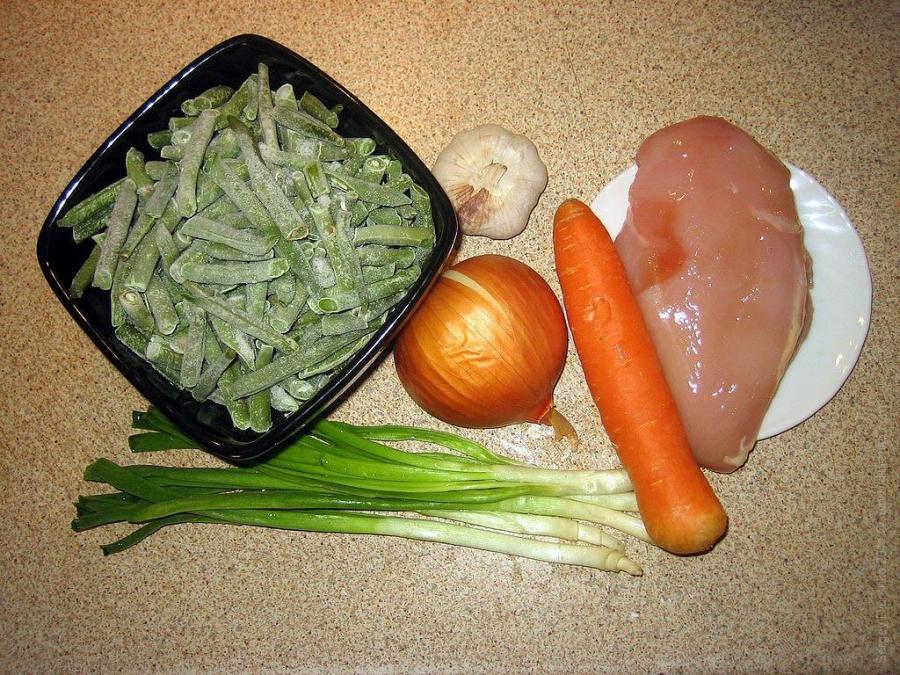 Рецепт Лобио из фасоли с курицей