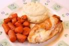 Курица с ветчиной и сыром