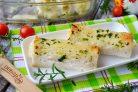 Рулет Лазанья в чесночном хлебе