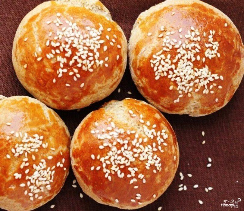 Ржаные булочки с луком