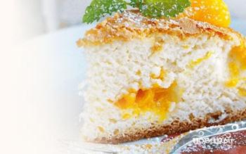 Рецепт Шарлотка с мандаринами в мультиварке