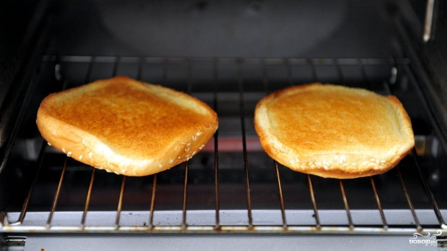 Чикенбургер - фото шаг 2