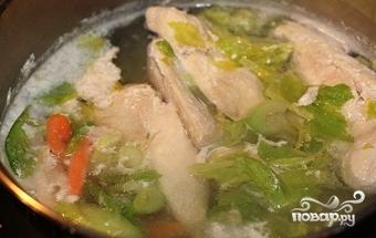 Суп рисовый с картофелем - фото шаг 7