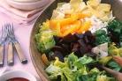 Салат со свеклой, апельсинами и эндивием