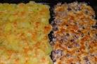 Картошка со сморчками в духовке