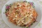 Салат с морковкой и курицей