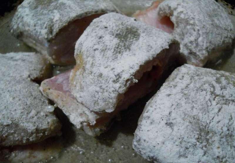 Линь в духовке - фото шаг 2