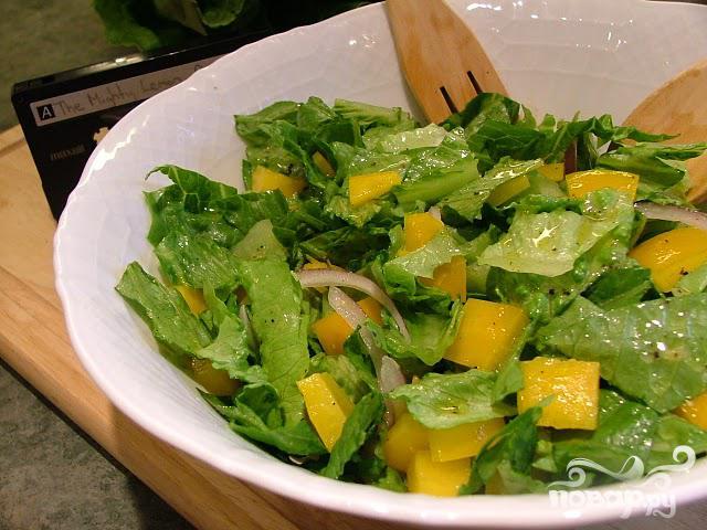 Лимонно-перечный салат - фото шаг 5