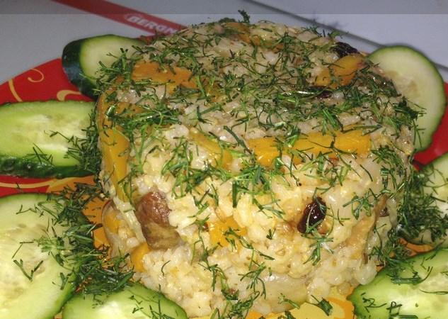 Плов из бурого риса - фото шаг 6