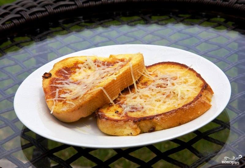 Французские тосты с сыром