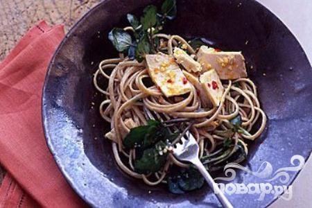 Рецепт Паста с тунцом и апельсиновым соусом