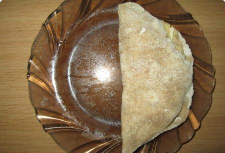 Кыстыбый с сыром - фото шаг 6