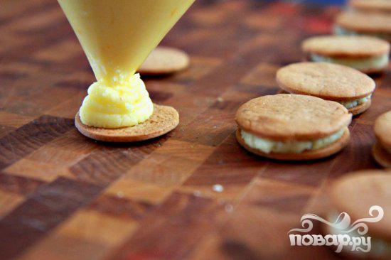 Пряное печенье с апельсиновым кремом - фото шаг 9