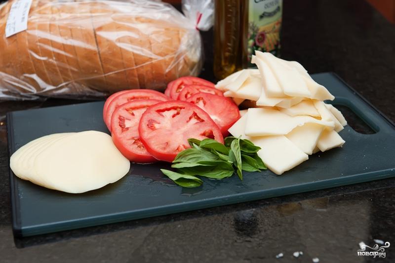 Рецепт Горячий бутерброд на сковороде