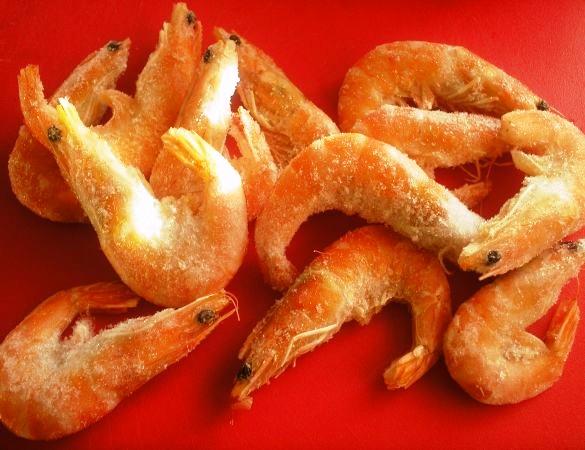 Жареные креветки в чесночном соусе - фото шаг 1