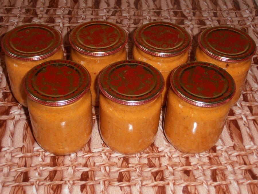 рецепт приготовления классической кабачковой икры