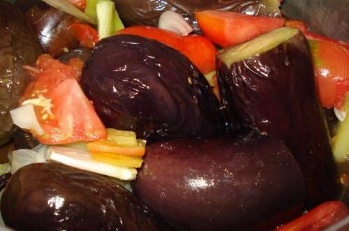 Баклажаны на зиму с помидорами - фото шаг 3