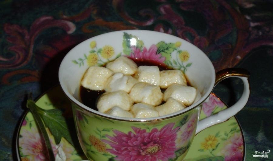 Кофе с маршмеллоу - фото шаг 1