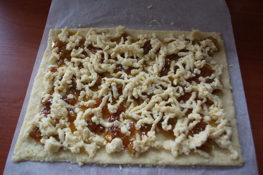 Печенье на кефире с вареньем - фото шаг 6