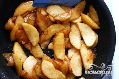 Оладьи с рикоттой и яблоками - фото шаг 2