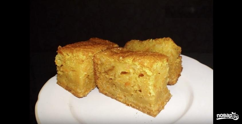 Тыквенный пирог в хлебопечке