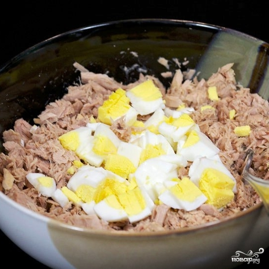 Сэндвичи с салатом из тунца - фото шаг 4