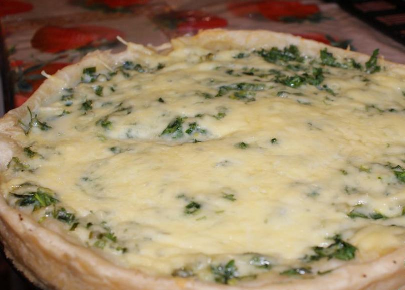Армянский пирог с зеленью - фото шаг 3