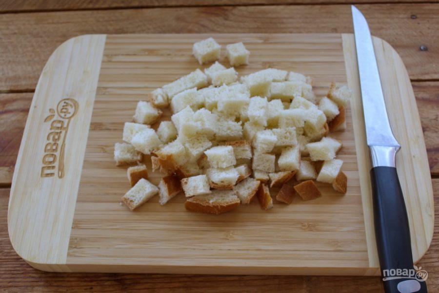как приготовить закуску из хлеба