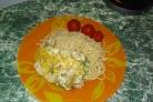 Курица с брокколи и цветной капустой
