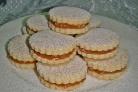 Песочное печенье со сгущенкой