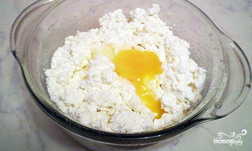 Песочный пирог с творожной начинкой - фото шаг 8