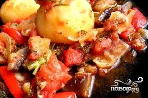 Картофель с баклажанами по-китайски - фото шаг 8