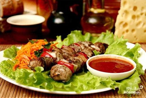 Рецепт Шашлык из свинины по-грузински