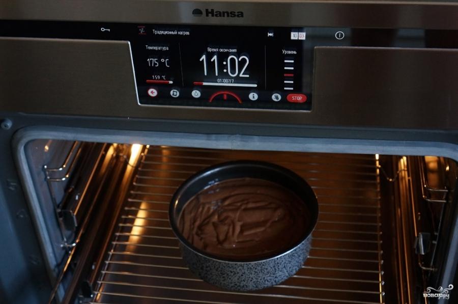 шоколадный торт с голубикой шоколадница рецепт