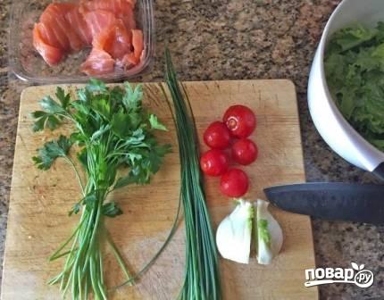 Салат с фенхелем - фото шаг 1