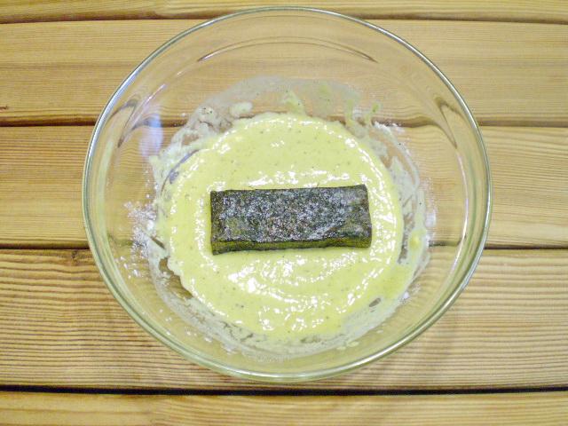 Вегетарианская жареная рыба - фото шаг 8