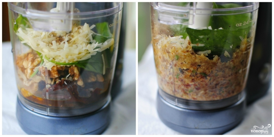 Паста с сушеными помидорами - фото шаг 2