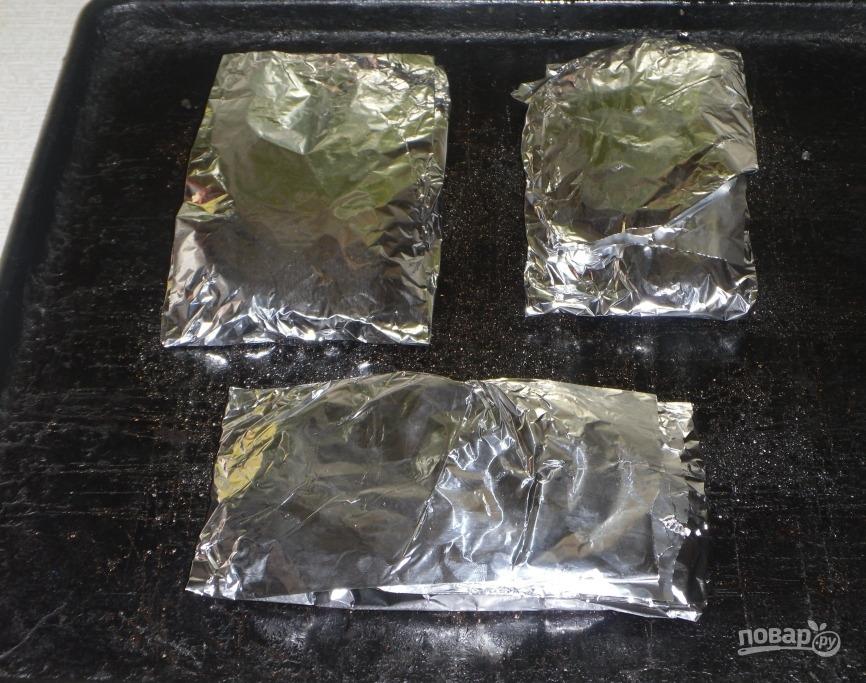 Стейк семги под сливочным соусом - фото шаг 3