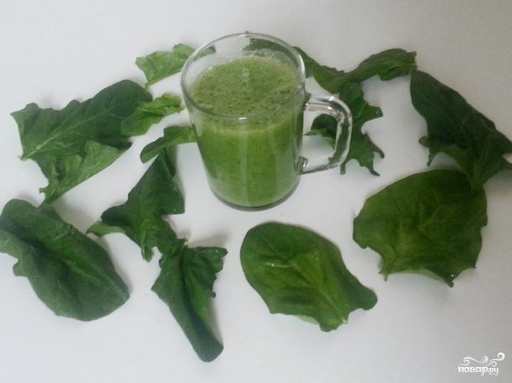 Как сделать зеленый смузи