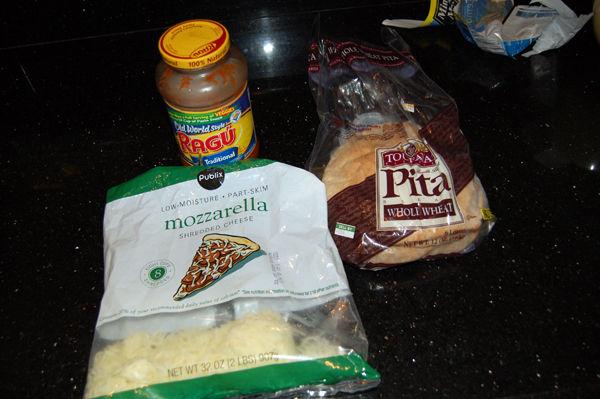 Рецепт Пицца-минутка в микроволновке