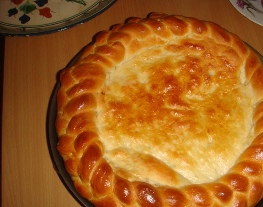 Пирог с камбалой - фото шаг 8