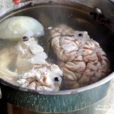Панированные мозги - фото шаг 3