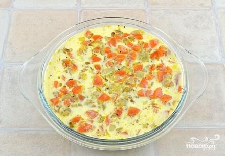Рыба с луком и морковью - фото шаг 9