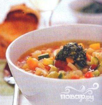 Рецепт Осенний овощной суп