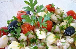 Салат с фасолью - фото шаг 6