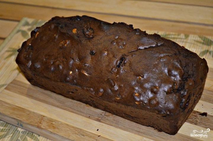 Шоколадный кекс с изюмом - фото шаг 7